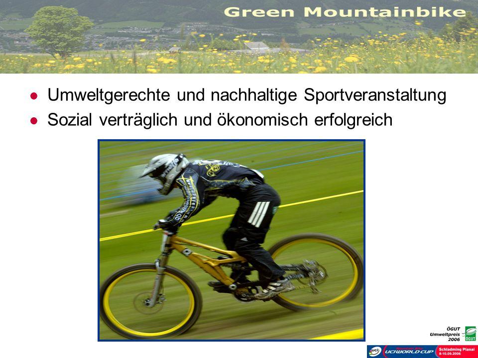Umweltgerechte und nachhaltige Sportveranstaltung