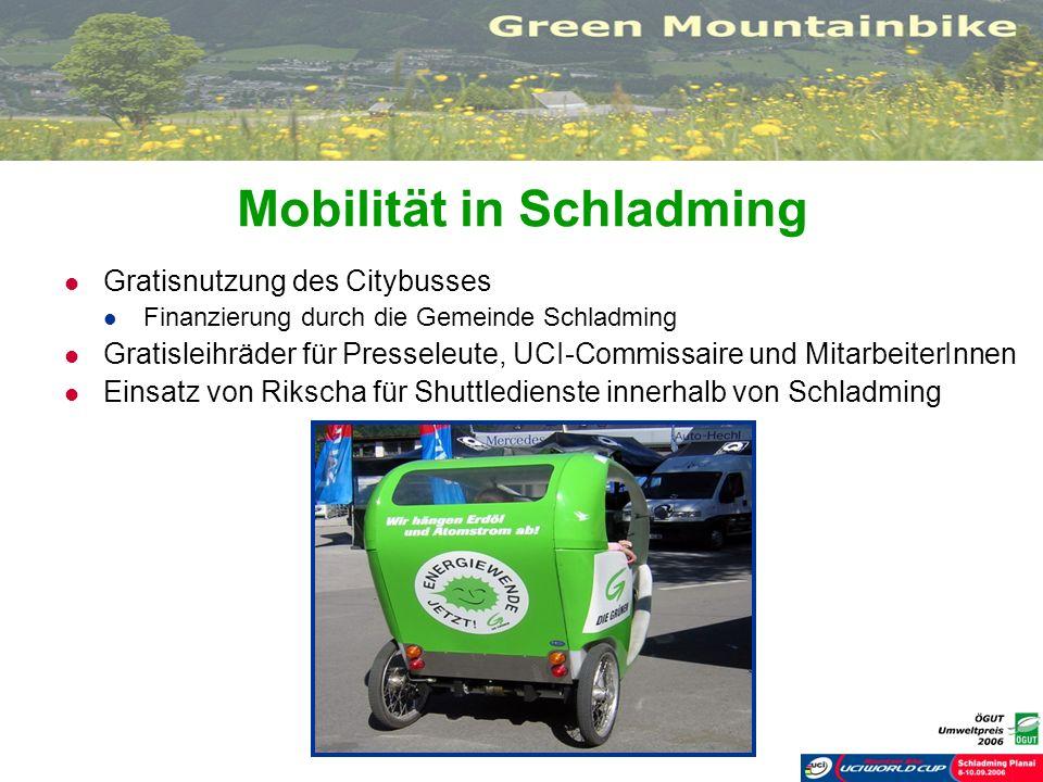 Mobilität in Schladming