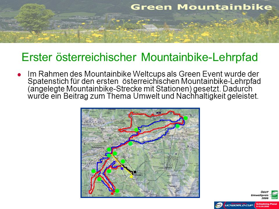 Erster österreichischer Mountainbike-Lehrpfad