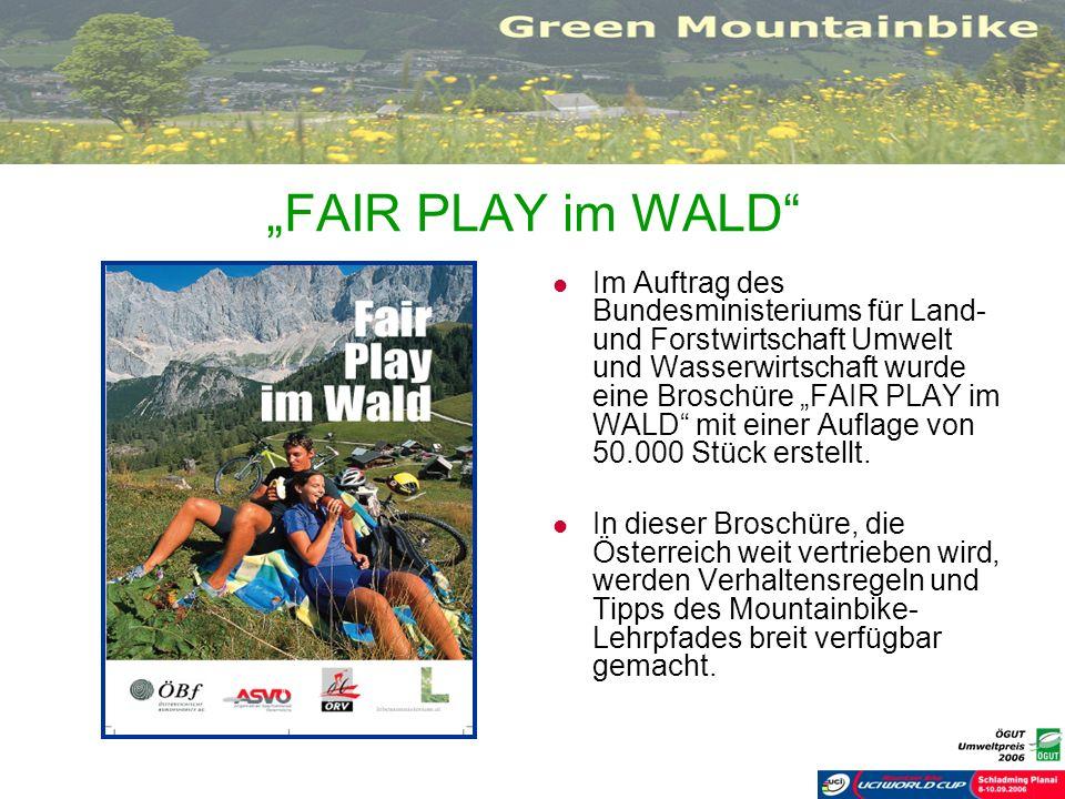 """""""FAIR PLAY im WALD"""