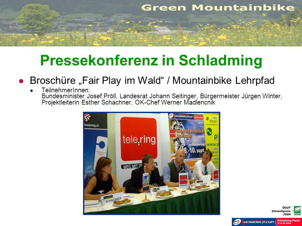 Pressekonferenz in Schladming