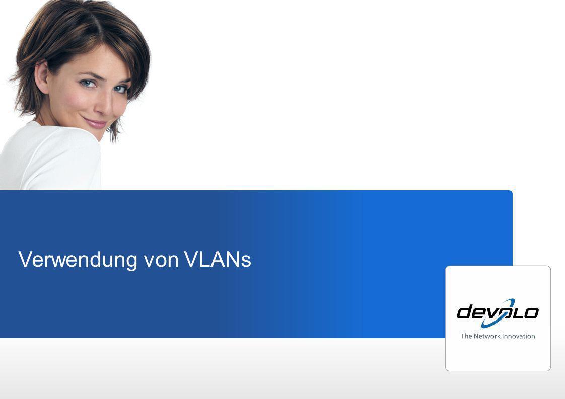 Verwendung von VLANs