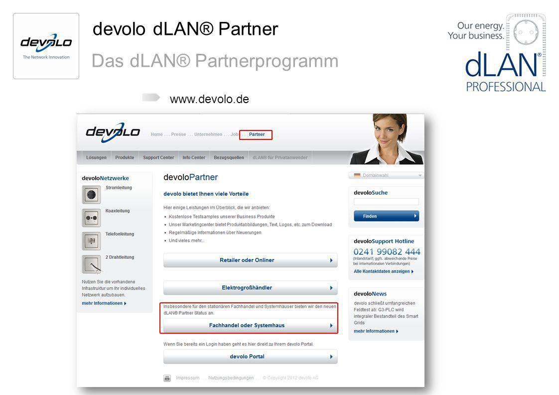 Das dLAN® Partnerprogramm