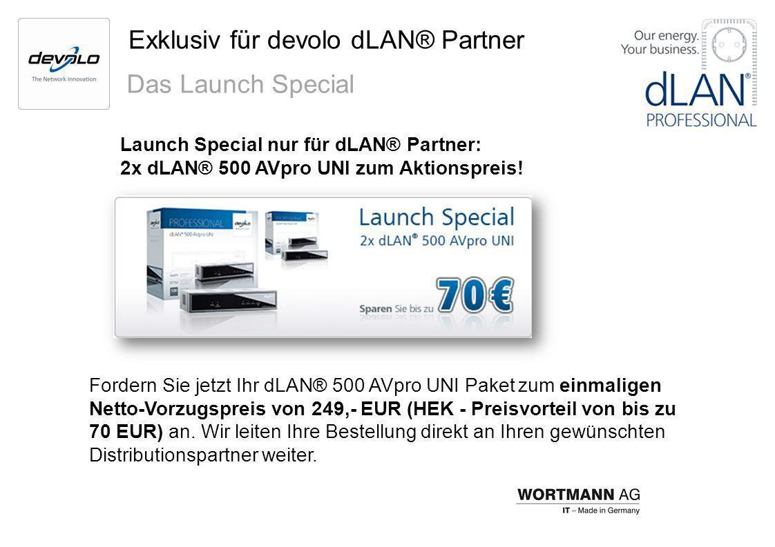 Exklusiv für devolo dLAN® Partner