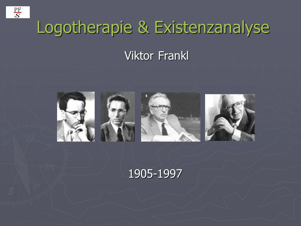 Logotherapie & Existenzanalyse