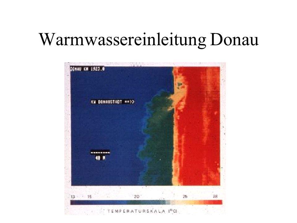 Warmwassereinleitung Donau