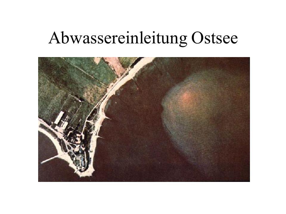 Abwassereinleitung Ostsee