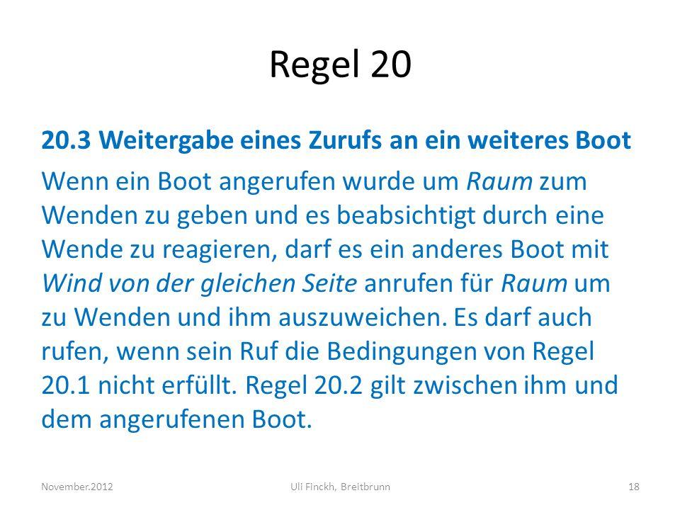 Regel 20