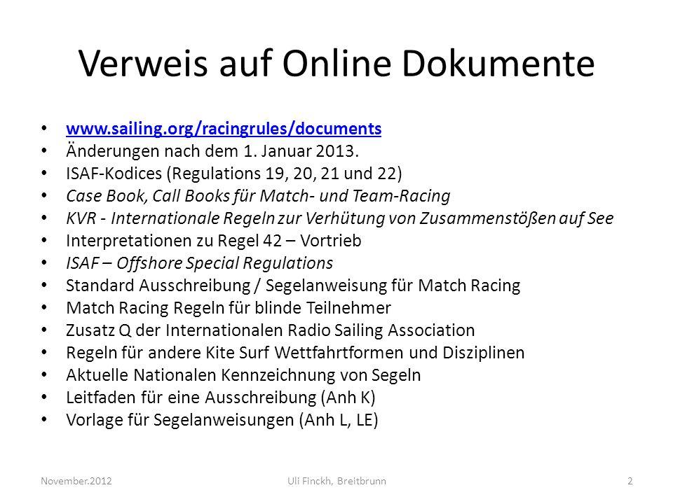 Verweis auf Online Dokumente