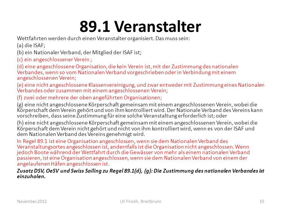 89.1 Veranstalter