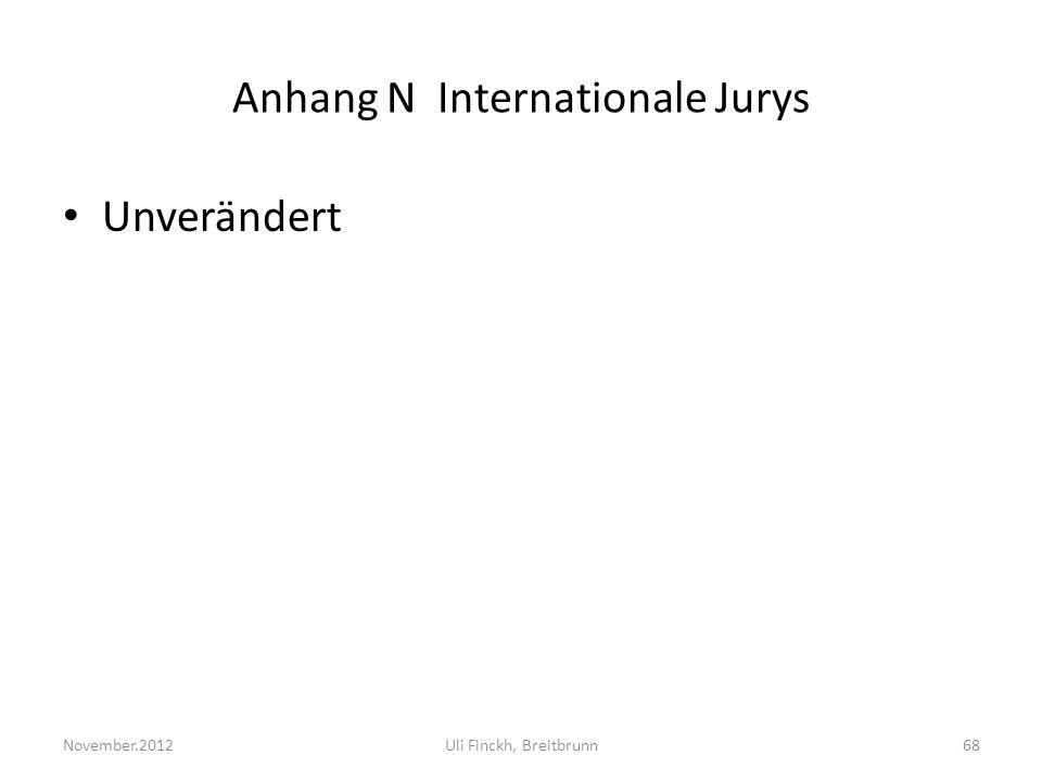 Anhang N Internationale Jurys