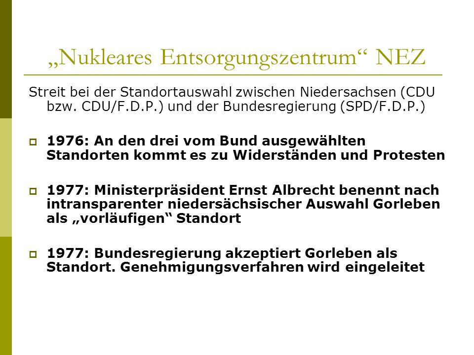 """Nukleares Entsorgungszentrum NEZ"