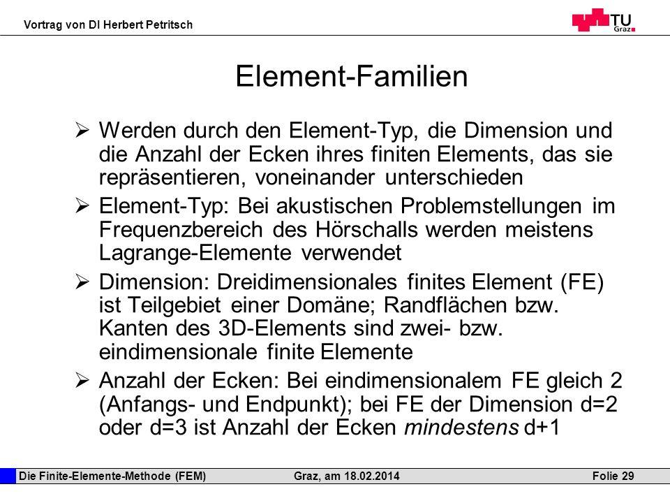 Element-Familien