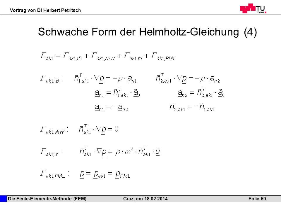 Schwache Form der Helmholtz-Gleichung (4)