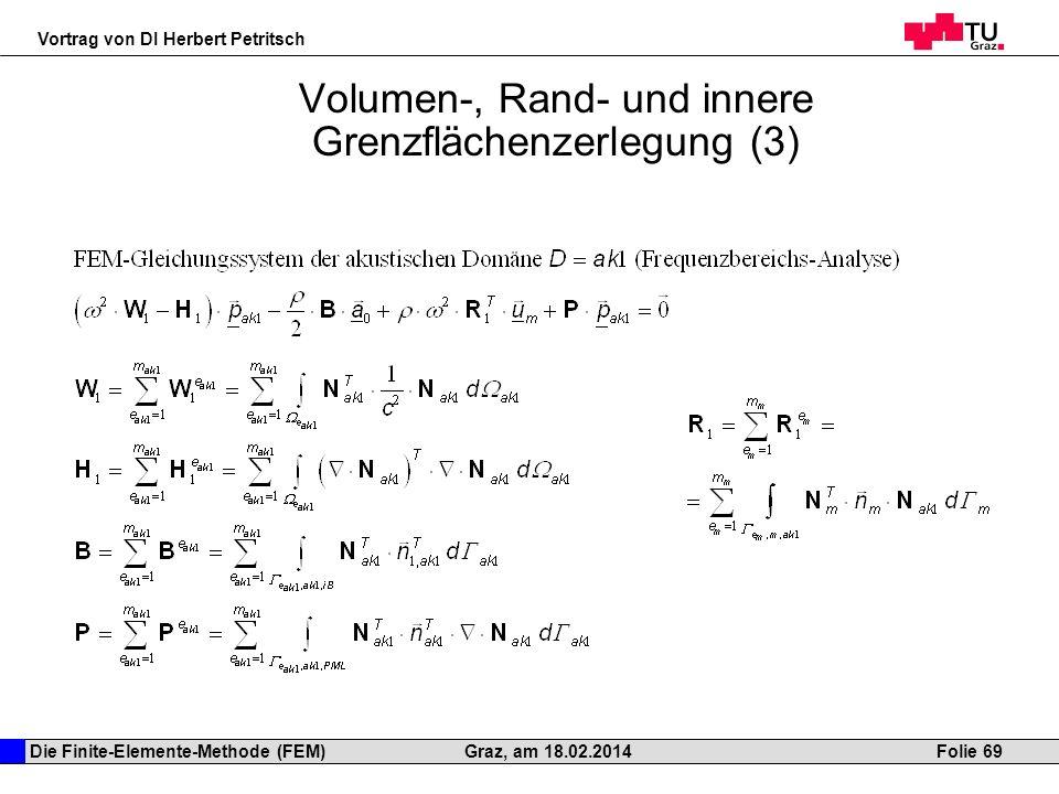 Volumen-, Rand- und innere Grenzflächenzerlegung (3)