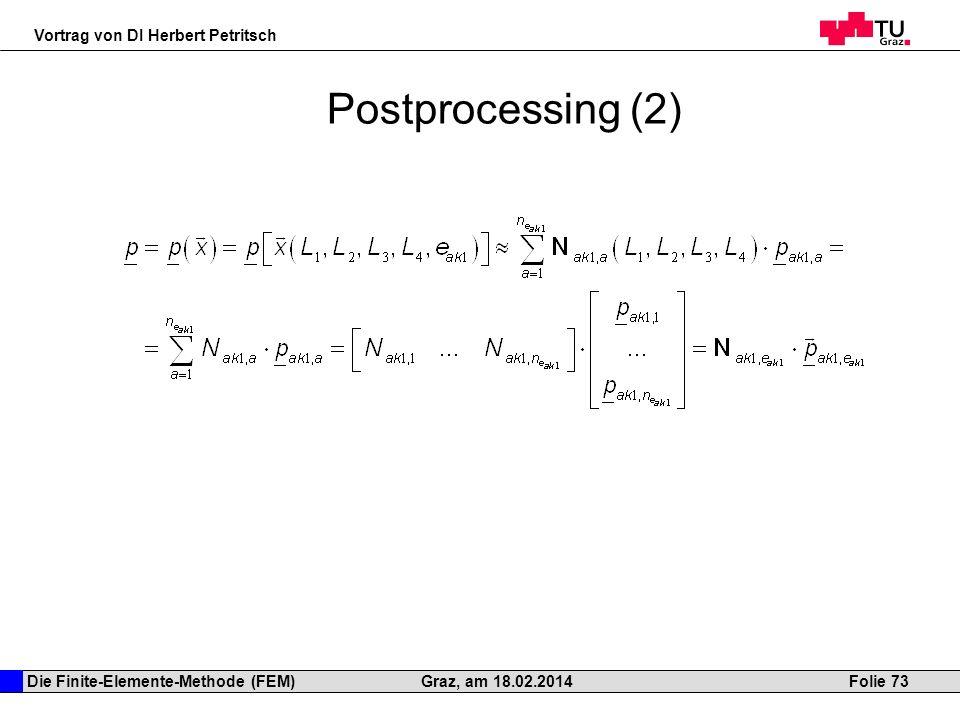 Postprocessing (2)