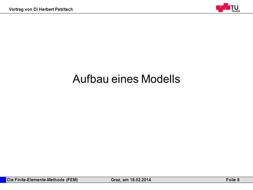 Aufbau eines Modells