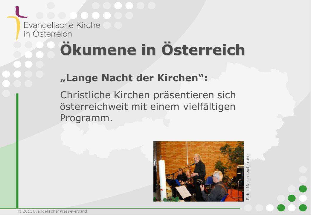"""Ökumene in Österreich """"Lange Nacht der Kirchen :"""