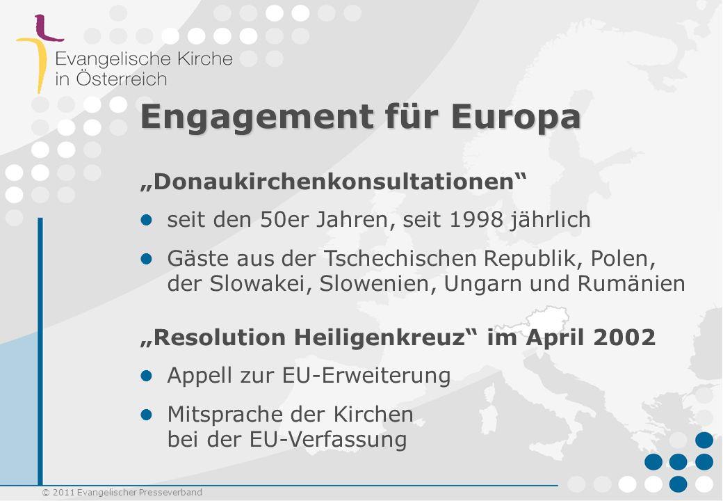"""Engagement für Europa """"Donaukirchenkonsultationen"""