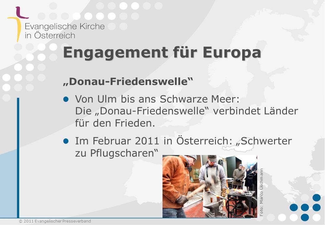 """Engagement für Europa """"Donau-Friedenswelle"""