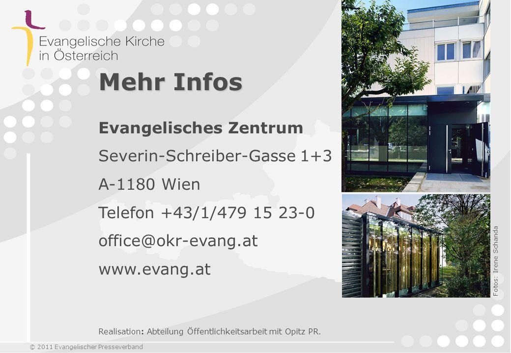 Mehr Infos Evangelisches Zentrum Severin-Schreiber-Gasse 1+3