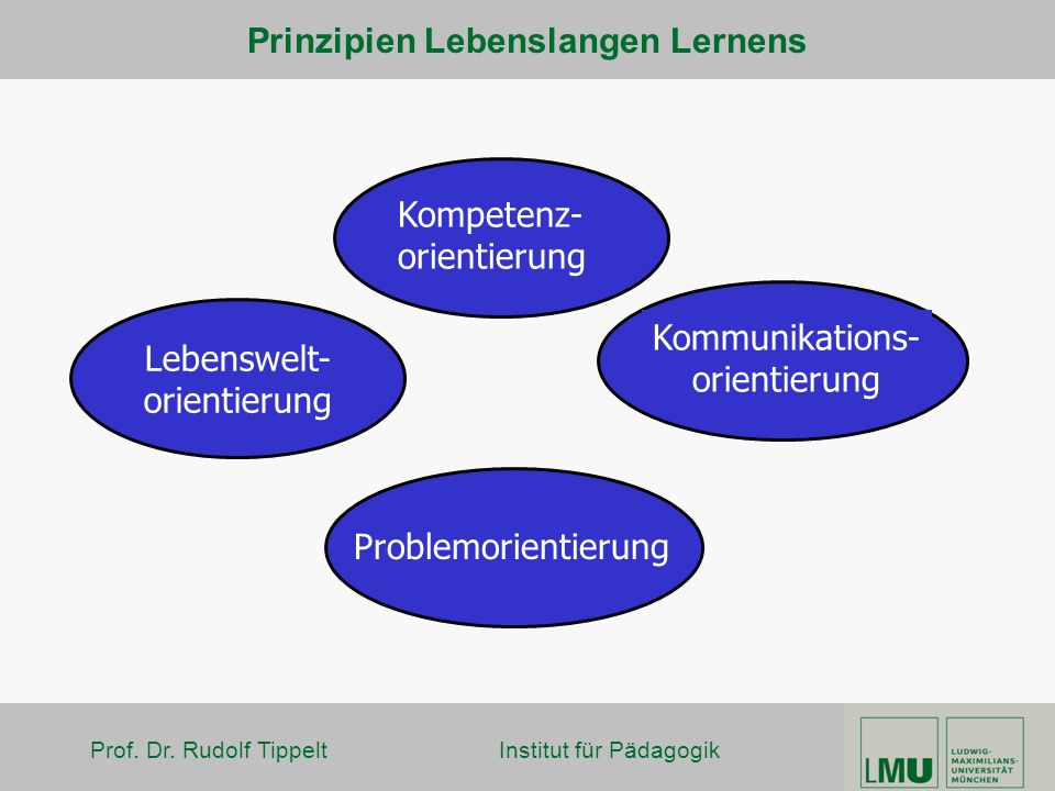 Prinzipien Lebenslangen Lernens