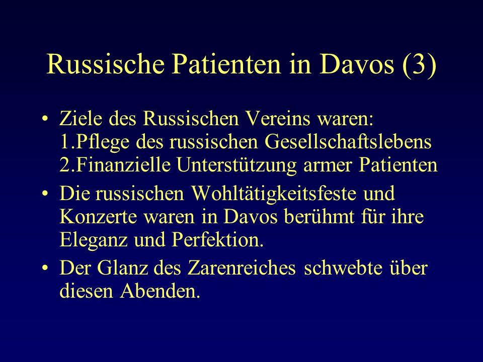 Russische Patienten in Davos (3)