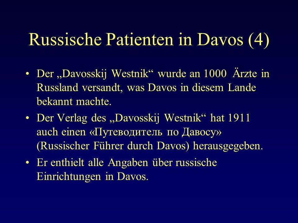 Russische Patienten in Davos (4)