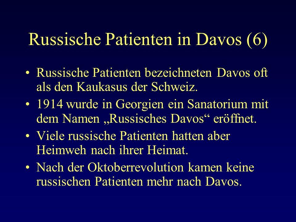 Russische Patienten in Davos (6)