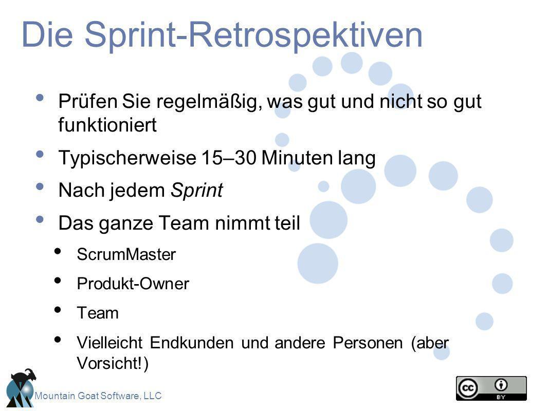 Die Sprint-Retrospektiven