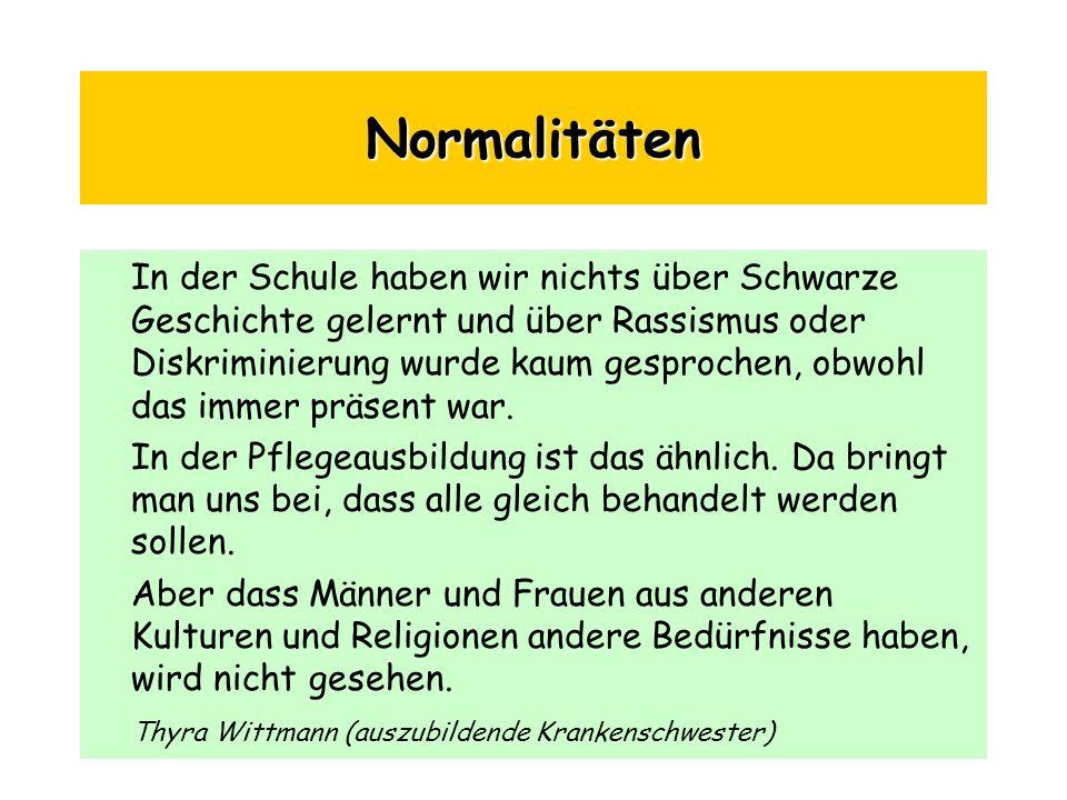 Normalitäten