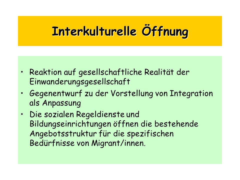 Interkulturelle Öffnung