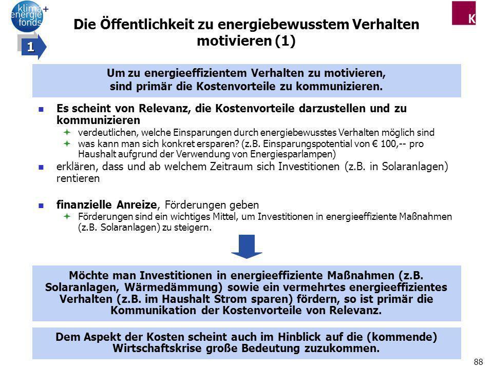 Die Öffentlichkeit zu energiebewusstem Verhalten motivieren (1)