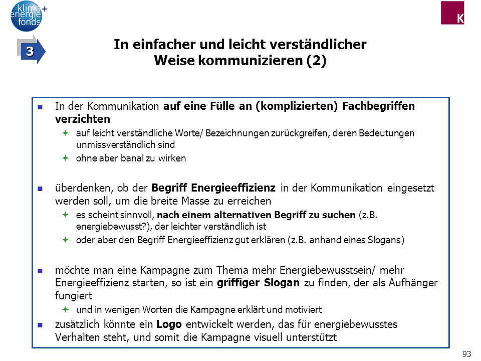 In einfacher und leicht verständlicher Weise kommunizieren (2)