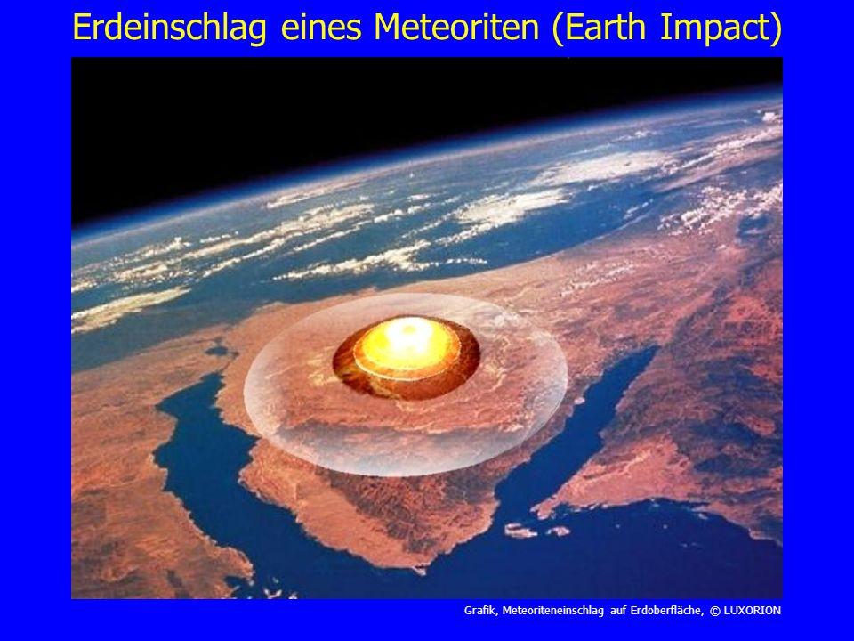 Erdeinschlag eines Meteoriten (Earth Impact)