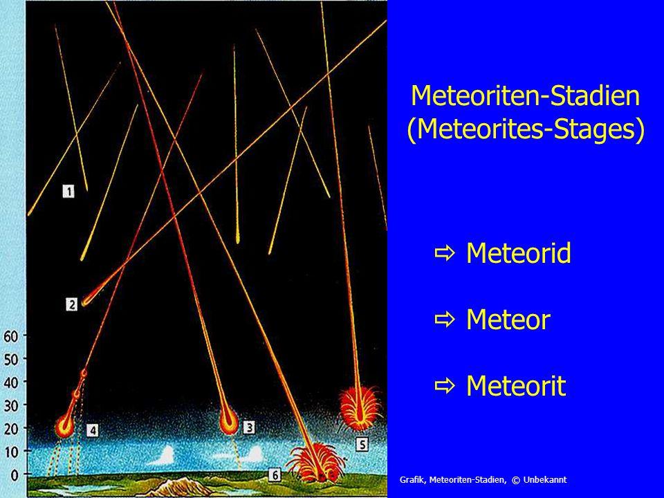 Meteoriten-Stadien (Meteorites-Stages)