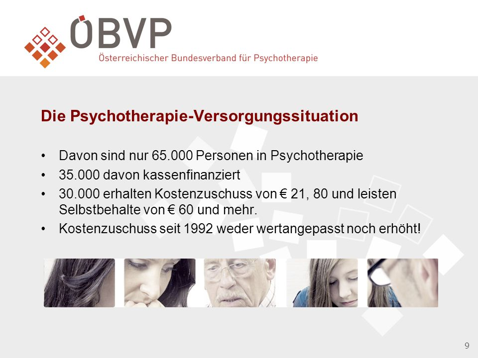 Die Psychotherapie-Versorgungssituation