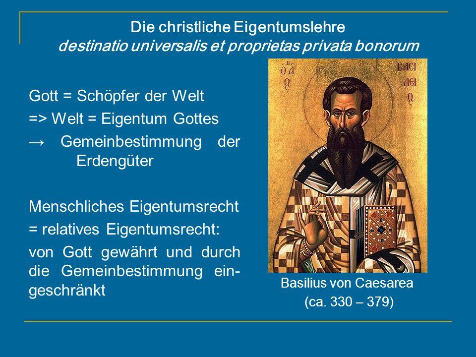 Basilius von Caesarea (ca. 330 – 379)