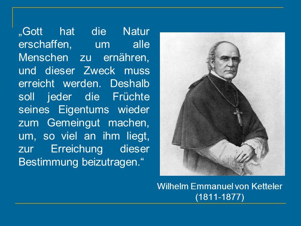 Wilhelm Emmanuel von Ketteler (1811-1877)