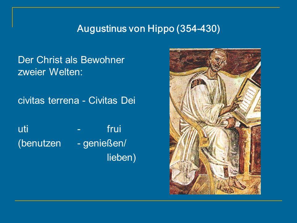 Augustinus von Hippo (354-430)