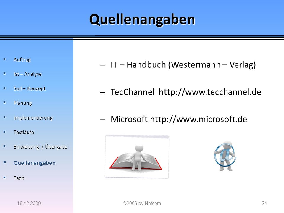 Quellenangaben IT – Handbuch (Westermann – Verlag)