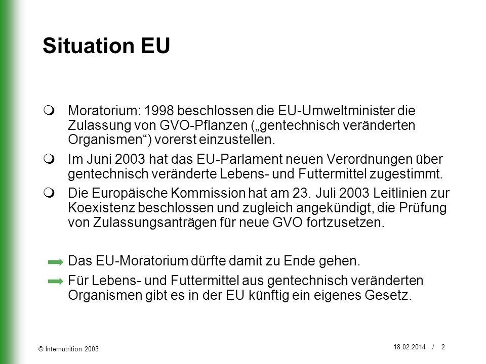 Situation EU