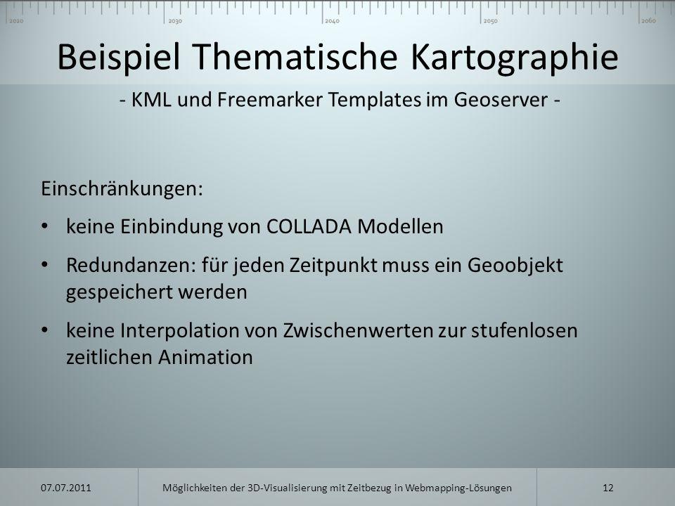 Beispiel Thematische Kartographie