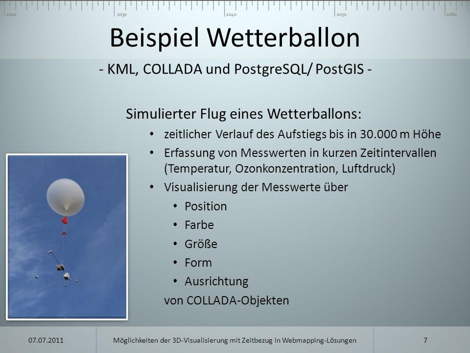 Beispiel Wetterballon