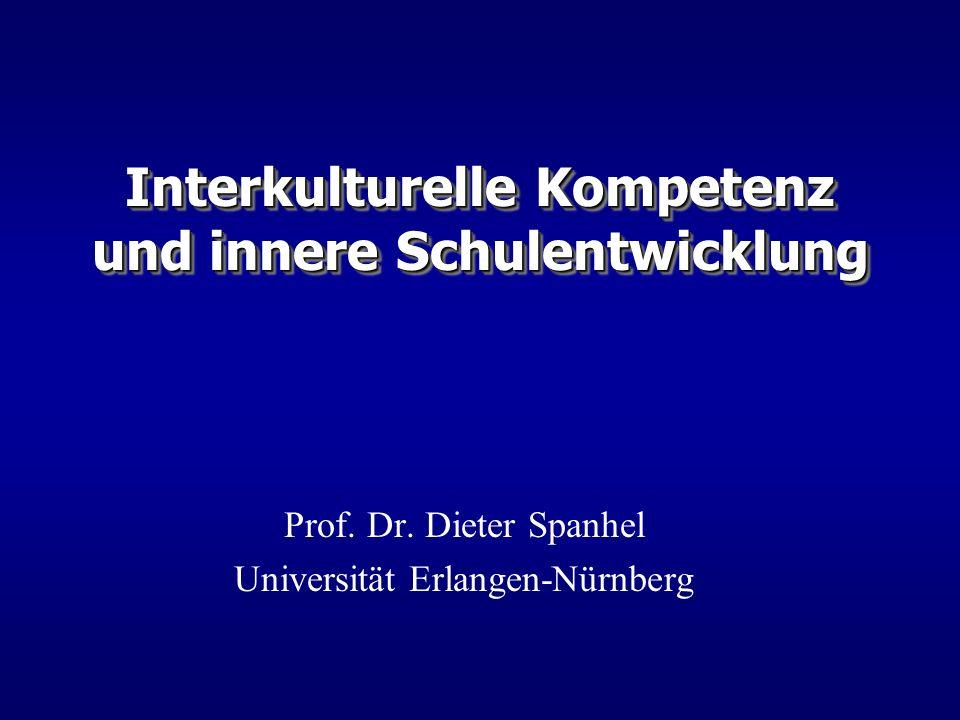 Interkulturelle Kompetenz und innere Schulentwicklung