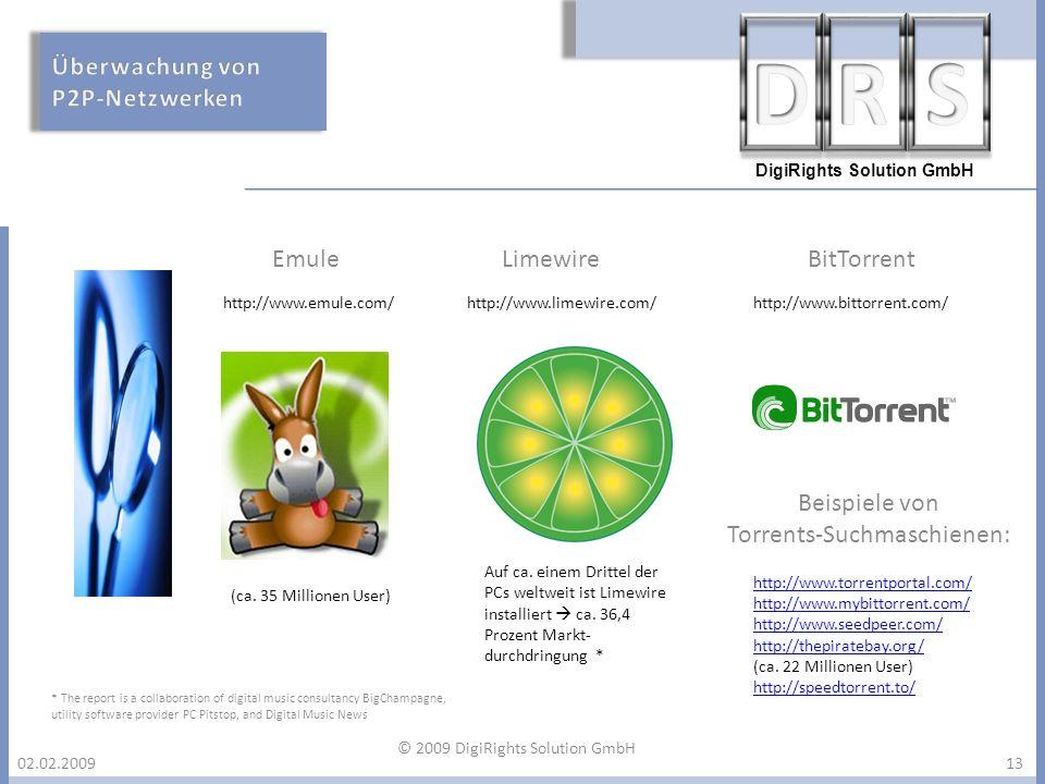 Torrents-Suchmaschienen: