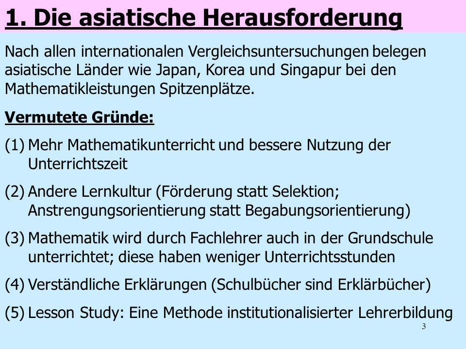 1. Die asiatische Herausforderung