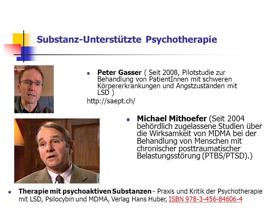 Substanz-Unterstützte Psychotherapie