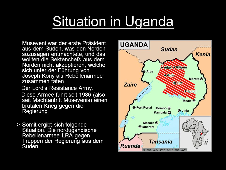 Situation in Uganda
