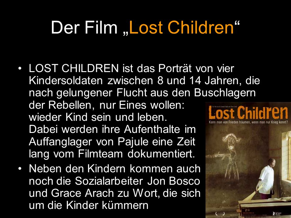 "Der Film ""Lost Children"